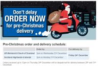 Don't wait till the last minute... order now for Pre-Christmas delivery!