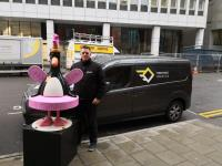 upUgo's Feathers McGraw Statue Delivery Case Study