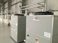 Full Turnkey Installation of Critical Cooling.