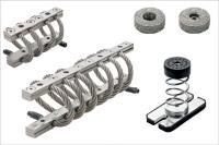 New Elesa wire rope isolators, spring mounts and cushions