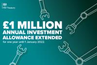 Government Extends £1million AIA Tax Break To Stimulate Investment
