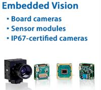 Embedded Vision Development Kits: Board Cameras, Sensor Modules and IP67-Certified Cameras