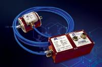 Torque sensor with separate sensing head can probe deep into machinery