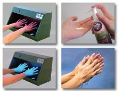 Fighting germs with good hand washing techniques!
