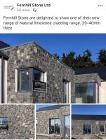 Fernhill Launch their New Range of Natural Limestone Cladding