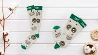Kingly is accredited with GOTS for our range of Organic cotton knitted socks