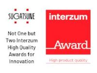 Not One but Two Interzum High Quality Awards for Innovation