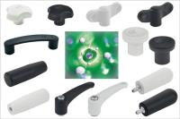 New Elesa SAN industrial components incorporate silver ions for sanitisation against microbes, bacteria and fungi