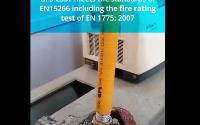 FIRE TESTING OUR GFS CORRUGATED STAINLESS STEEL TUBING (CSST)