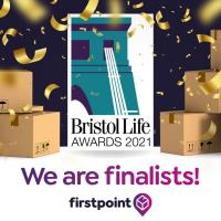 Firstpoint Over the moon to be nominated as Finalists for the Bristol Life Awards!