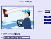 View other HMIs using an existing HMI and VNC Viewer
