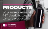 Why we recommend PET plastic bottles for car care products