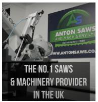 We're not the NO.1 Saws & Machinery provider in the UK for nothing!