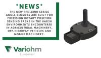New Novotechnik RFE-3200 angle sensor perfectly suits mobile machinery and off-highway position measurement