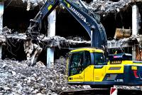 What are the different controlled demolition techniques?