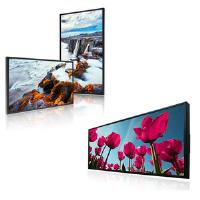 Range of displays offering high brightness with a minimum of 3000 cd/m²