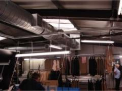Energy efficient cooling for Lutwyche suit factory