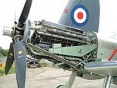 CLASSIC FIGHTER ENGINEERS SAVE TIME & MONEY WITH HIRED VIDEOSCOPE