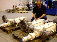 Submersible valve position monitors for North Sea