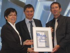 Thermix-TX.N gets a 10-year Warranty Certificate