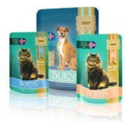 Burns New Moist Cat and Dog Food