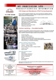 Tube Mills Supported By NT Precision Ltd