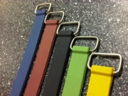 Moulded Rubber Straps with Metal Hooks