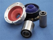 Rubber to Metal Bonded Rubber Mouldings