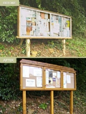 New notice board installation service takes off!