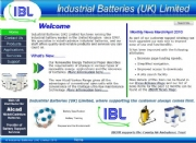 IBLUK- Industrial Nickel-Cadmium Battery Web Site Upgrade