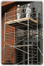 Morning delivery guarantee for scaffold tower