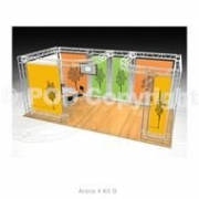 New Exhibition Floor Space Solutions – Arena 4 Gantry Systems