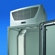 Air routing for Rittal roof mounted TopTherm Plus cooling units