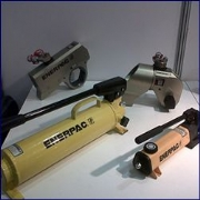 Enerpac prototype P-80 Hand Pump Exhibited by Worlifts