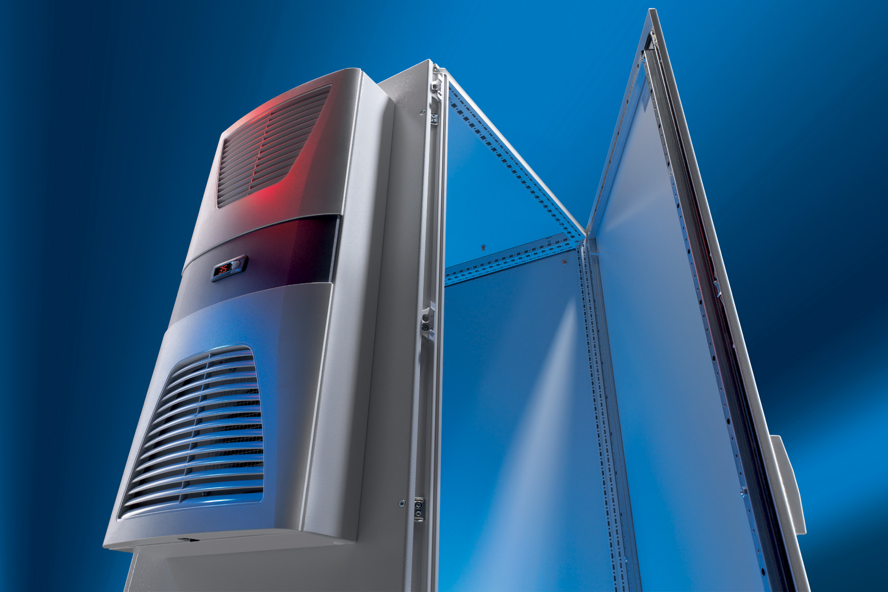 Rittal IP54 Air-Air Heat Exchangers offer low energy consumption