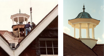 Why GRP is the perfect material for replicating old cupolas and clock towers.