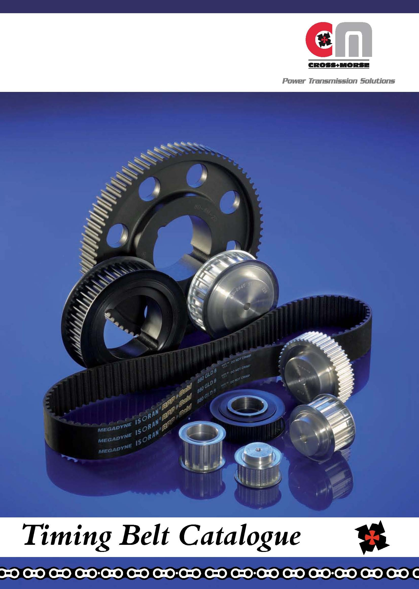 New Timing Belt & Pulley Catalogue from Cross+Morse