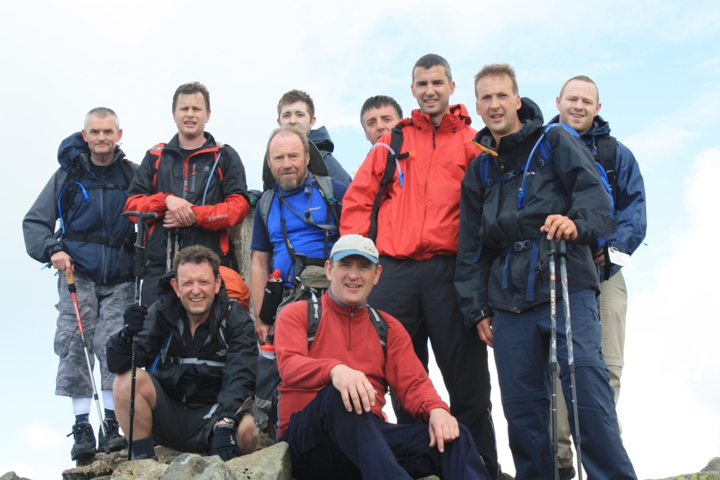 Climbing Mountains for Charity
