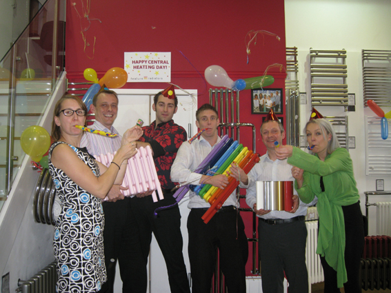 Feature Radiators celebrates Central Heating Day!!