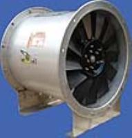 Long cased Axial fans available with Polypropylene impellers!