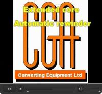 Video - Extended core automatic rewinder
