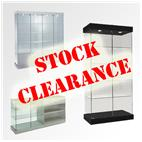 Huge Discounts on Stock Glass Display Cabinets