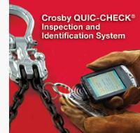 Dale introduce the New Crosby QUIC-CHECK Inspection and Identification System