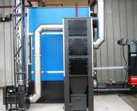 Two Boilers and Silo with AHU