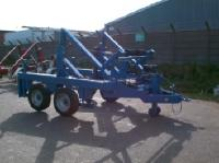 Atlas Southern has taken delivery of its' second CD220 Cable Drum Trailer from SEB International