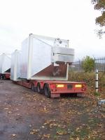4 off 50 Tonne Mixed Material Storage Silos