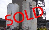 NOW SOLD - 2 X Used WATER TANKS 4mtr x 10m