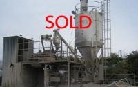NOW SOLD - Used 'WINGET' P2 TURBO MIXER Batching Plant