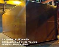 2 X Double Skinned Rectangular Fuel Tanks - Capacities - 80,000L & 48,000L