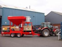 2 off Mobile Cement Dispenser Silos (For Highway Laying Use)